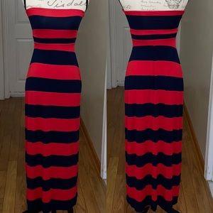 Old navy tube top Maxi Dress